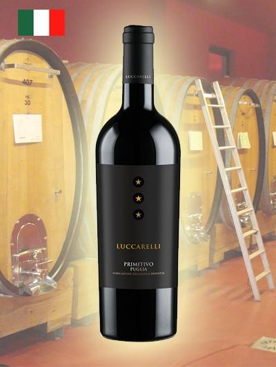Vinho tinto Luccarelli Puglia Primitivo