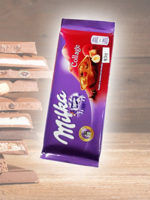 Chocolate Milka Collage Barra 93g
