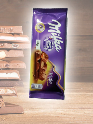 Chocolate Milka Triple Cocoa