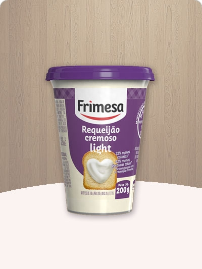 Requeijão Light da Frimesa