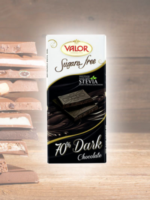 Chocolate Amargo sem açucar Valor